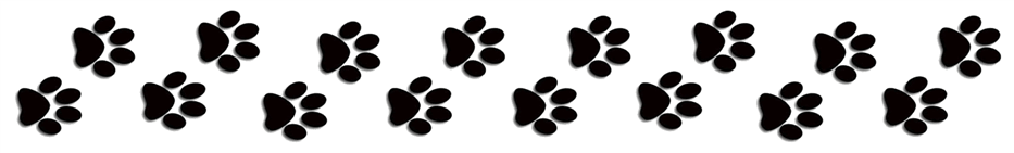 paw prints header